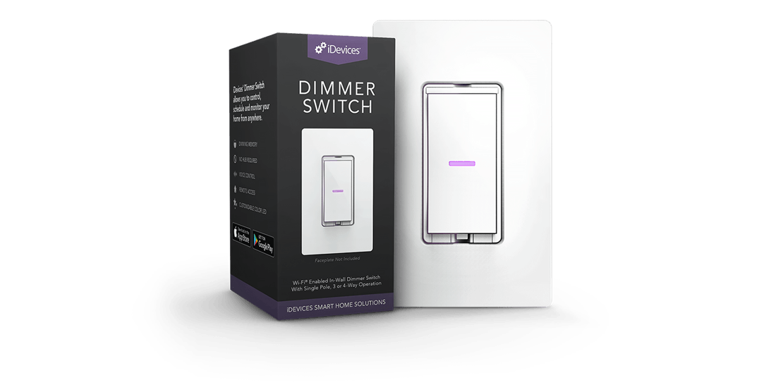 iDevices Dimmer Switch Media Page