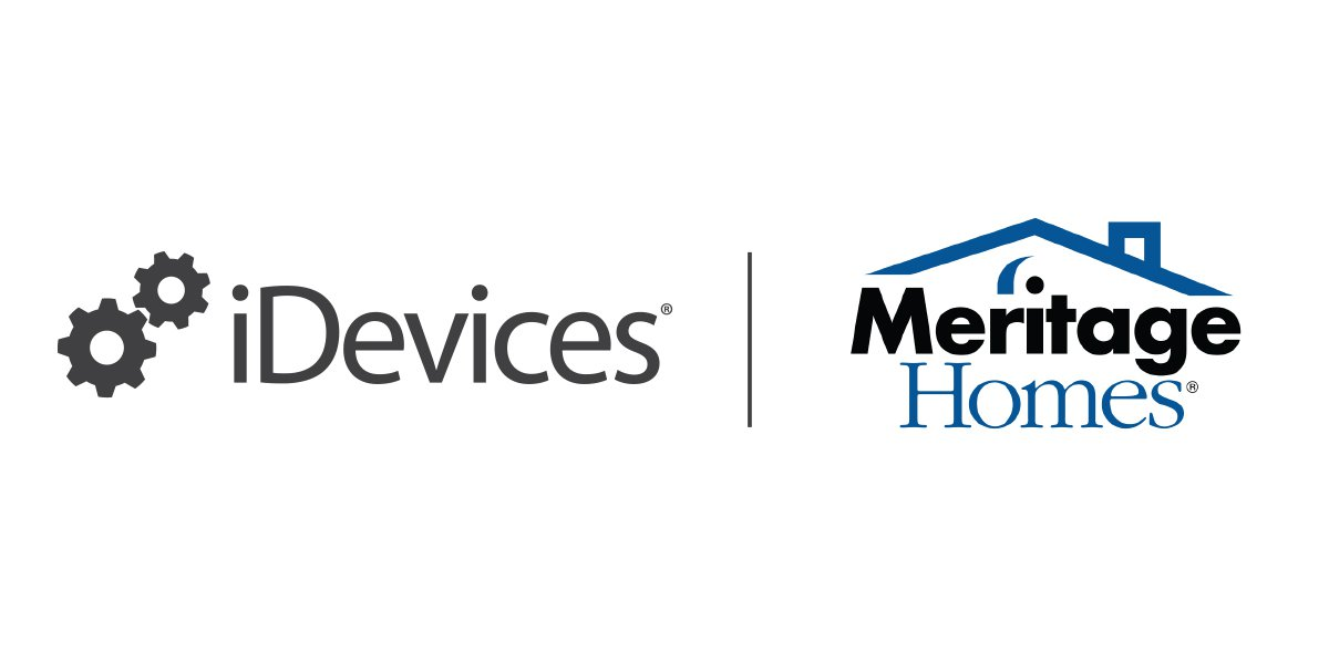 iDevices News, National Builder Meritage Homes® Partners with iDevices® for Smart Home Solutions